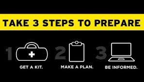 3 steps to preparedness