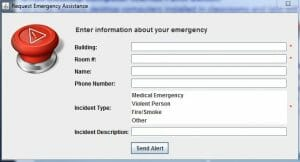 Panic Button - Click and Verify Pop-Up