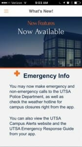 Emergency Info Announcement